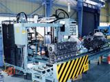 大型クランクケース  シール剤塗布機<br /> Crank Case Sealant Apply Unit