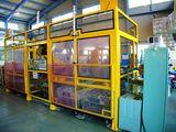 立型旋盤及びブローチ盤へのワーク自動搬入搬出設備<br /> Work Loading Machine for Vertical Lathe and Broaching