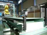 走行軸付きロボットによる自動供給設備<br /> Auto Loading Robot with Travel Unit